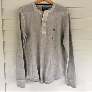 NET Abercrombie & Fitch Thermal Henley Medium